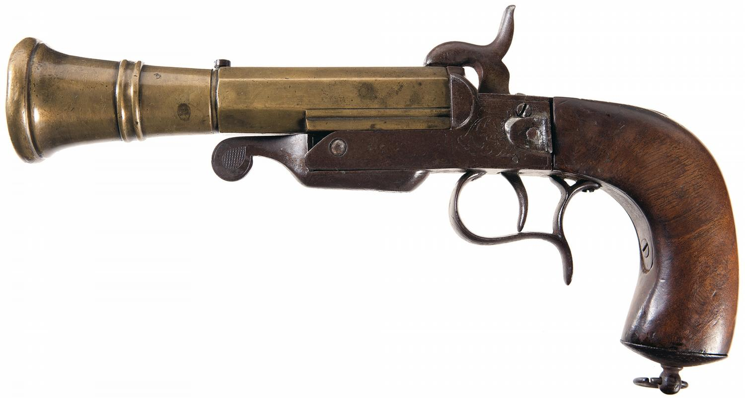 Denix Pirate 18th Century Flintlock Blunderbuss Pistol ...